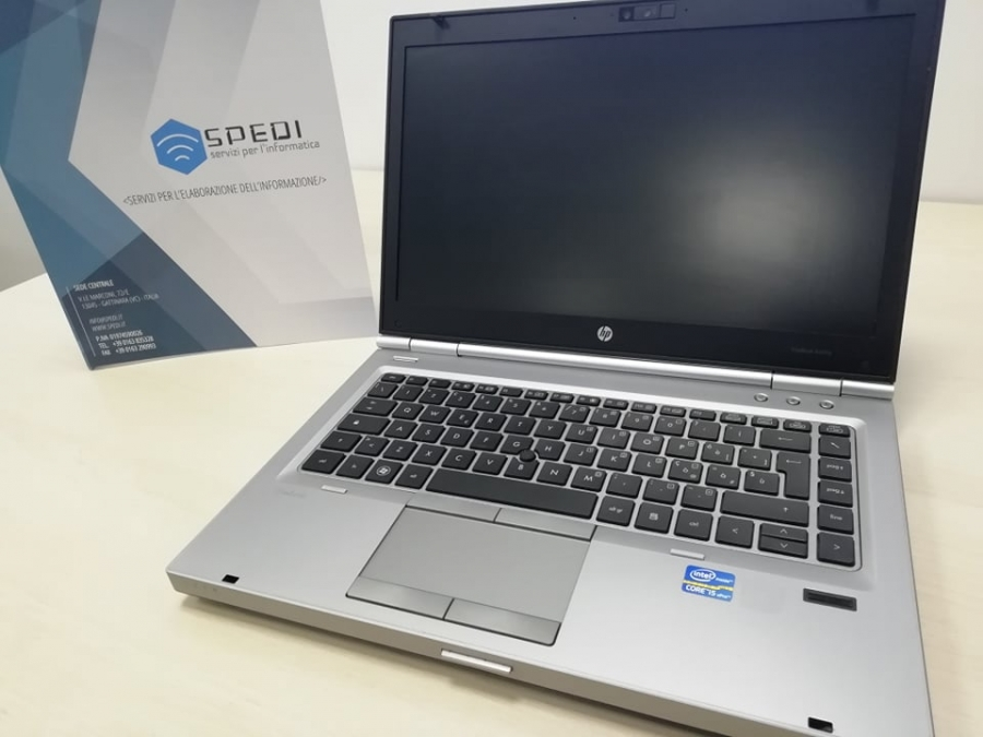 HP Elitebook 8460p - I5, 4GB RAM, 320GB HDD, 14.1'', Win 10 Pro