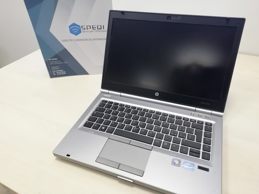 HP Elitebook 8470p - I5, 4GB RAM, 500GB HDD, 14.1'', Win 10 Pro